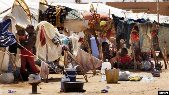 지난해 7월 말리의 난민촌.