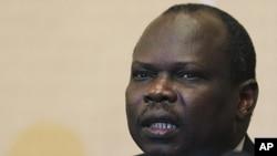 南苏丹首席谈判代表蒲甘.阿马穆(资料照)