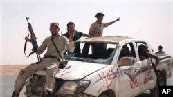 前反政府武裝成員。