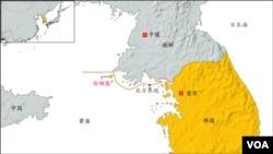 韩国白翎岛