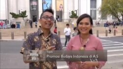 Promosi Budaya Indonesia di AS (1)