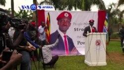 VOA60 AFIRKA: A Uganda Shahararen Mawaki Bobi Wine, Ya Ayyana Shirinsa Na Karawa Da Dadadden Shugaban Kasa Yoweri Museveni A Zaben 2021