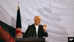 محمد اشرف غنی رئیس جمهور افغانستان (ارشیف)