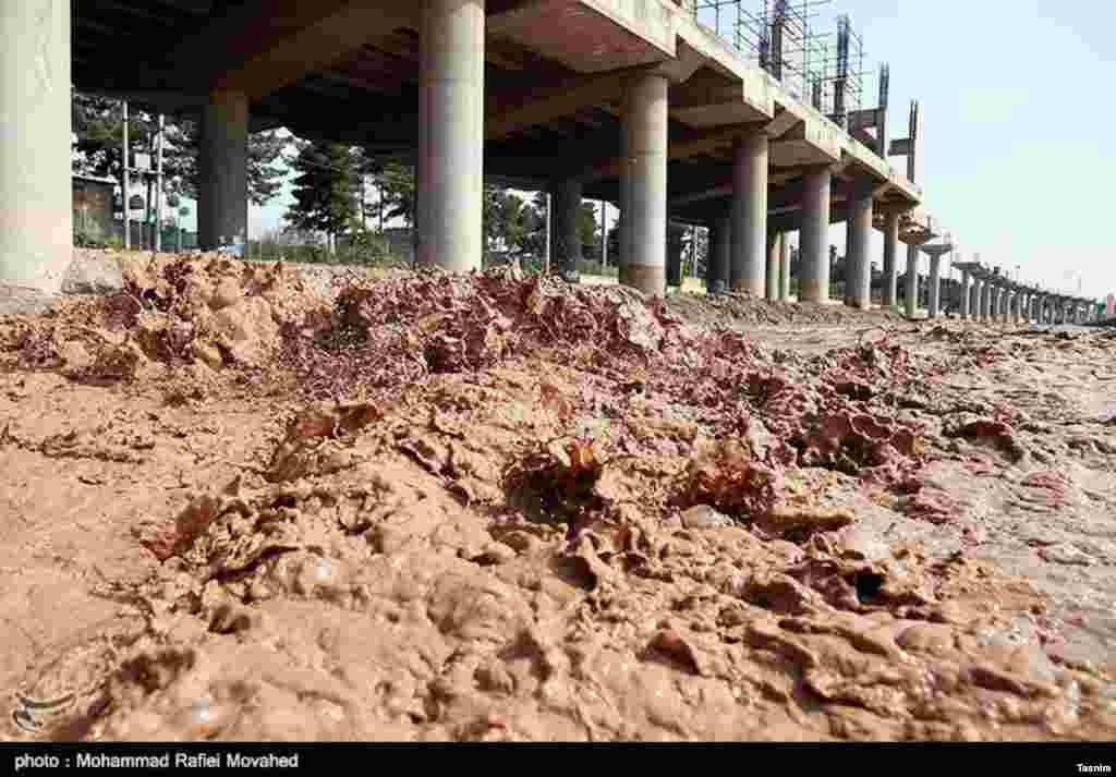 سیلاب در قم عکس: محمد رفیعی موحد