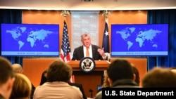 미국 국무부 민주주의·인권·노동국의 마이클 코작 대사가 지난 3월 '2018 국가별 인권보고서'를 발표했다.