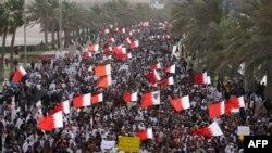 Biểu tình chống chính phủ ở Bahrain hồi tháng Bảy