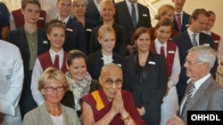 Dalai Lama Arrives in Germany (photo:dalailama.com)