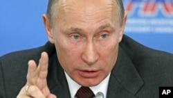 俄罗斯总理普京10月17日在莫斯科