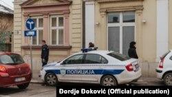 Ulaz u redakciju nezavisnih internet novina Kolubarskog okruga (Foto: Đorđe Đoković, Kolubarske)