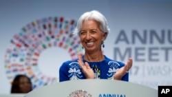 Директор-розпорядник Міжнародного валютного фонду Крістін Лаґард