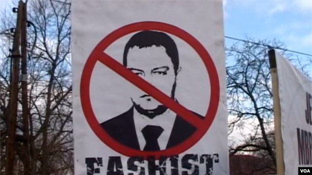 Protestë në Shkup për shqiptarët e Preshevës