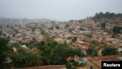 Vista geral de Cabinda, Angola. Junho 2016