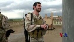 前线报道:伊拉克基督教民兵坚守家园 两美国老兵相助