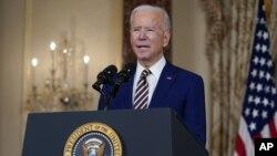 جو بایدن روز پنجشنبه گفت آمریکا به حمایت از ائتلاف نظامی تحت رهبری عربستان سعودی پایان می دهد