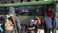 Aleppo ၿမိဳ႕တြင္းက အရပ္သားမ်ားကယ္ထုတ္ေရးအစီအစဥ္ စတင္