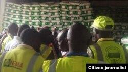 Kayan abincin da NEMA ta kai Borno ma 'yan gudun hijira