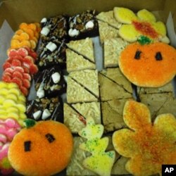 Treats baked by trainees at Sunflower Bakery