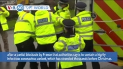 VOA60 Addunyaa - France began allowing people to enter the country from Britain again