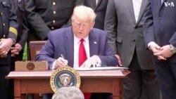 特朗普簽署行政令要求改革警察系統