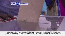 VOA60 Africa - Djibouti: Voting in the presidential election is underway