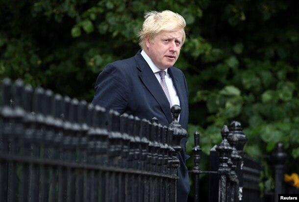 Ông Boris Johnson, một trong những nhà lãnh đạo của chiến dịch ủng hộ Brexit.