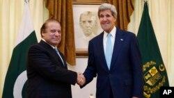جان کری و نواز شریف، اوت ۲۰۱۳ در اسلام آباد