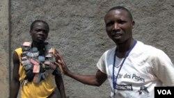 중앙아프리카공화국 기독교 반군 조직인 반발라카 대원들. (자료사진)