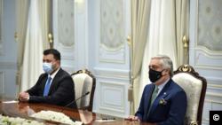 Afg'oniston Milliy birdamlik oliy kengashi raisi Abdulla Abdulla. Toshkent, 11-noyabr, 2020.