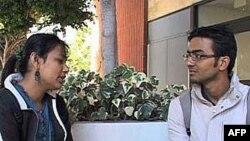 在南加州大學的外國學生