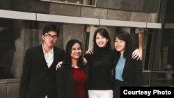 Tim Indonesia (Ki-ka: Bimo, Fitri Aulia, Irene, dan Anggi) (Dok: Anggi Nurqonita, Irene Angela)