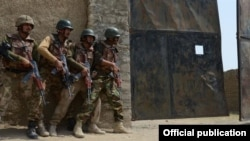 FILE - Pakistan army launches operation 'Zarb-e-Azb' in North Waziristan.