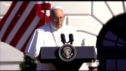 Americans, Obama Welcome Pope at White House