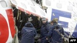 Авария самолета ТУ-154 в Домодедово
