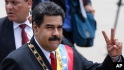 Tổng thống Nicolas Maduro.