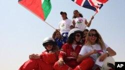 Members of the Speed Sisters