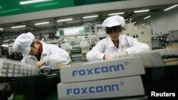 Pabrik Foxconn di Longhua, provinsi Guangdong, Tiongkok, yang memproduksi produk-produk Apple. (Foto: Dok)