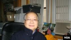 聯成公所顧問趙文笙 (攝影﹕美國之音宋德成)