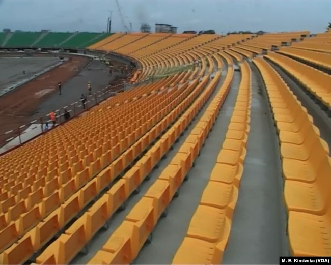 Bepanda Stadium in Douala, Dec. 1, 2018.