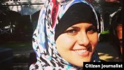 Sarrah Abulughod, warga Washington, D.C.