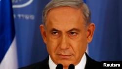 Thủ tướng Israel Benjamin Netanyahu mô tả phe Hamas là những phần tử cực đoan bạo động.