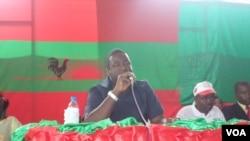 Angola Unita secretario provincial Huambo Liberty Chiaka