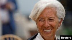 Christine Lagarde, exministra francesa, llegó al FMI en2011 y su segundo mandato de cinco años noterminahasta julio de 2021.