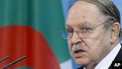 الجیریا ئی صدر کی جانب سے اصلاحات کا اعلان متوقع