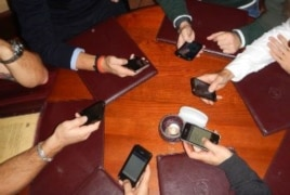 Cell Phones in Meetings