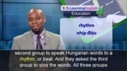 Anh ngữ đặc biệt: Singing Language (VOA)