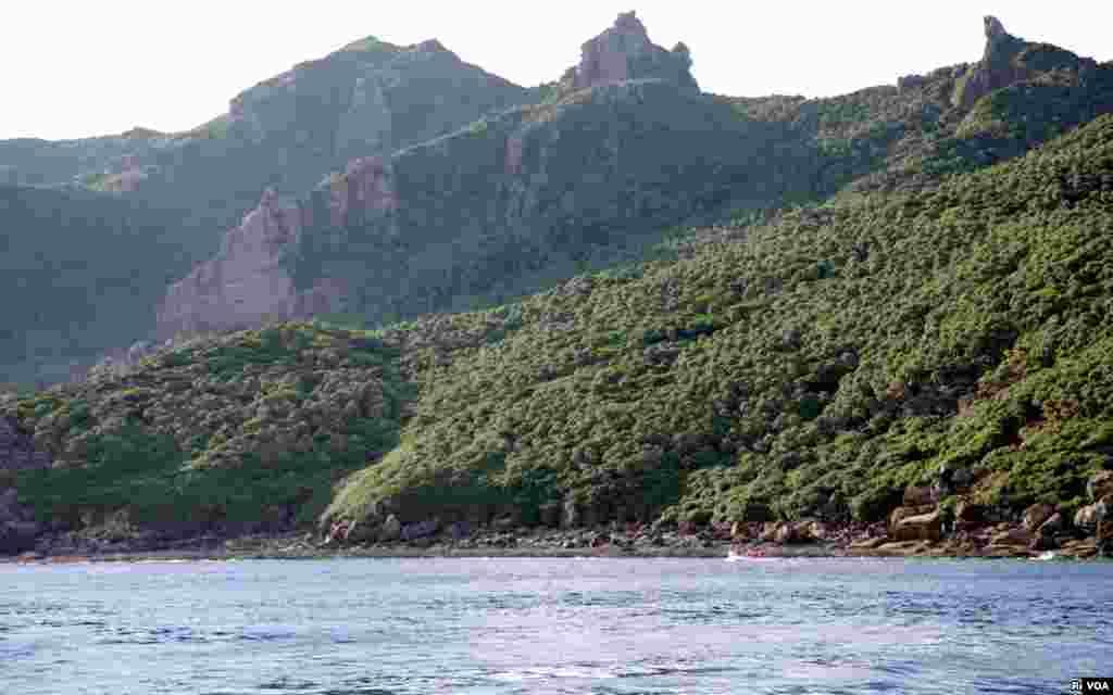 جزیرے یوتسوری کا ایک نظارہ