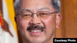 旧金山市长李孟贤(图片来自市长办公室)