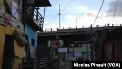 Khu nhà ổ chuột Moinho ở Sao Paulo.