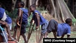 Polio ከምዚ ይገብር። ካብ ካልእ ሃገር ዝተወስደ ስእሊ