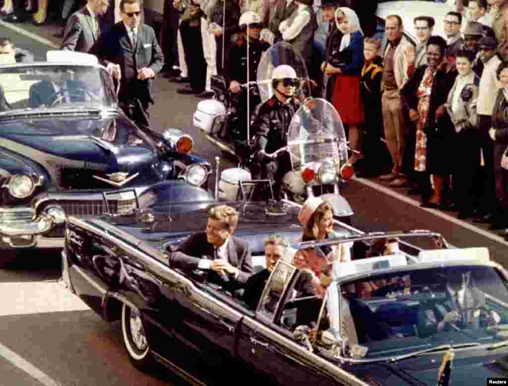 November 22, 1993 will mark the 30th anniversary of the assassination of President John F. Kennedy. President and Mrs. John F. Kennedy, and Texas Governor John Connally ride through Dallas moments before Kennedy was assassinated, November 22, 1963 - RTXEY